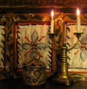 Jacobean/Tudor Dining Room lighting