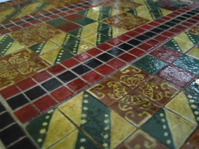 platform floor