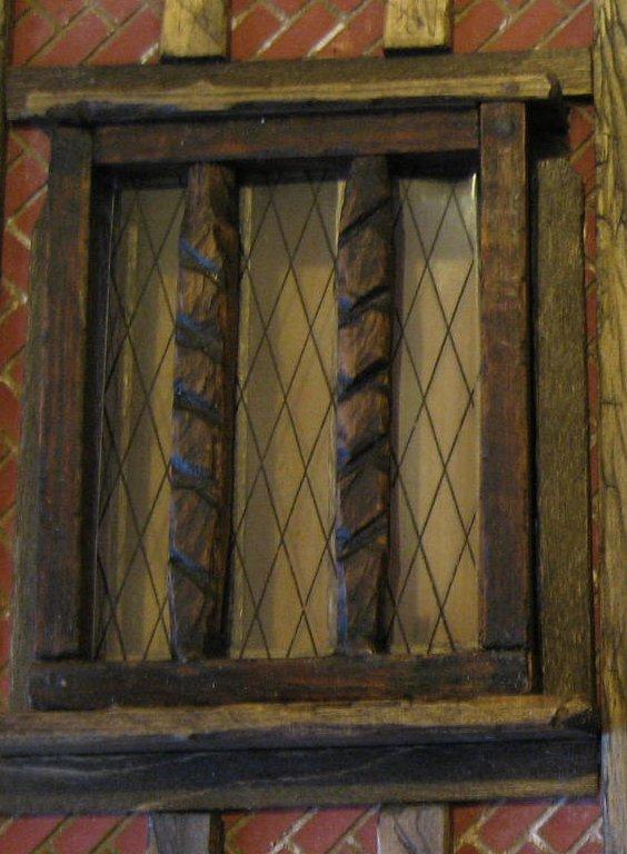 first go at Tudor window