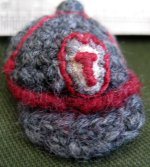 Schoolboy cap and badge