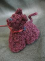 Crocheted mini dog