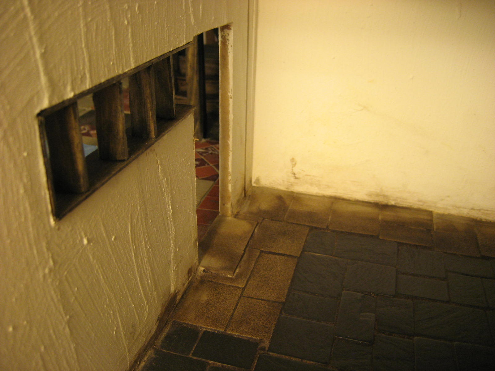 Floor Paint Thickened With Joint Compound