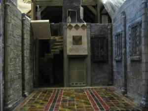 Great Hall in Tudor Dolls House