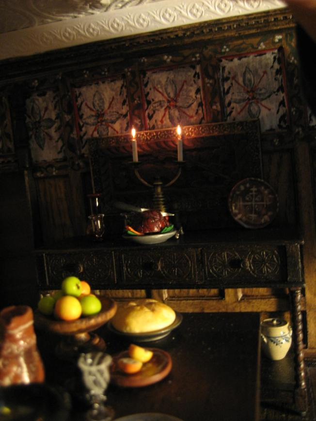 sideboard Tudor dining room