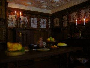 Tudor dining room