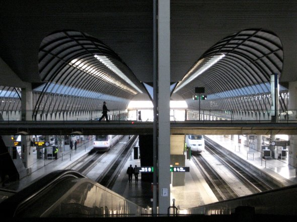 theinfill - Eyebrow rail station, southern Spain
