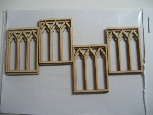 theinfill - Great Hall Medieval-Tudor: Angela Dowton window frets