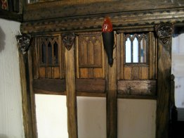 theinfill - Great Hall side of the Medieval - Tudor dividing wall