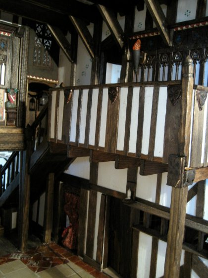 theinfill - Great Hall Medieval to Tudor - minstrel gallery/landing