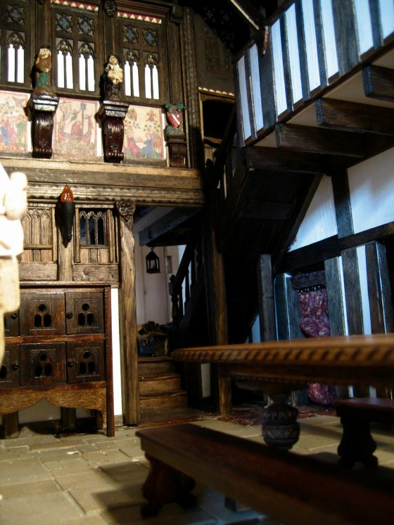theinfillclicks - Great Hall - dolls house Medieval to Tudor