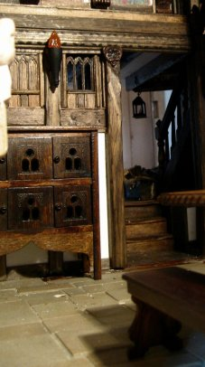 theinfill - Great Hall Tudor to Jacobean large doorway to entrance