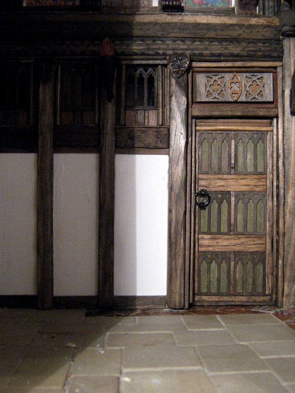 theinfill - Medieval to Jacobean dolls' house Great Hall