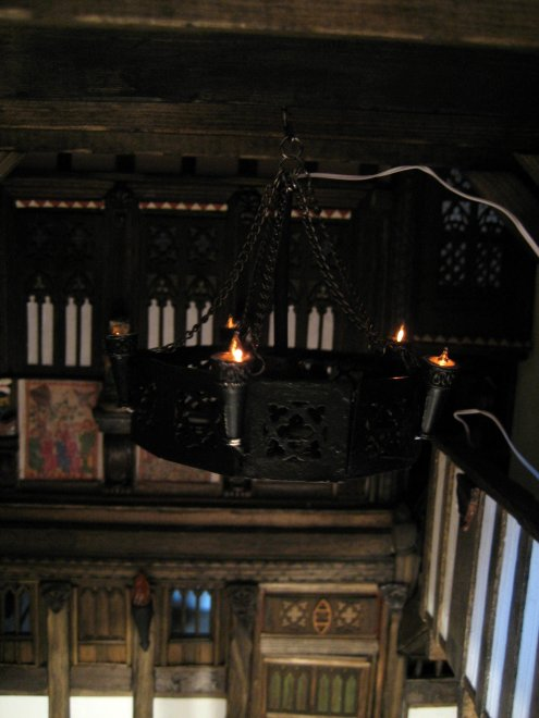 theinfill - Medieval to Jacobean dolls house Great Hall