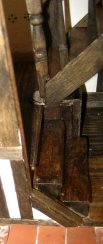 theinfill - Medieval to Jacobean dolls house - hall stairs