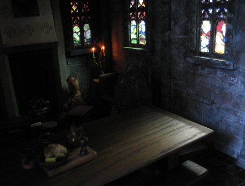 theinfill - Medieval to Jacobean dolls house - 2nd part of Great Hall