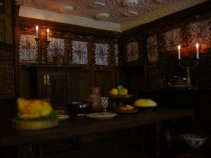 theinfill - Medieval to Jacobean dolls house - family dining room