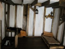 theinfill - Medieval to Jacobean dolls house - kitchen womens qrtrs