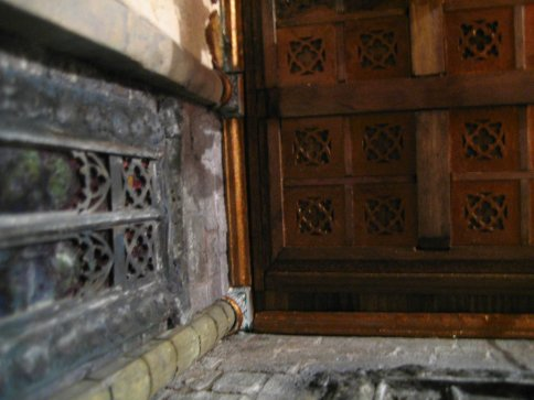 theinfill - Medieval to Jacobean dolls house - Great Hall ceiling