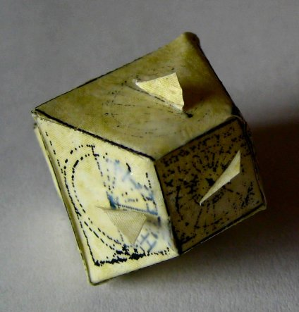 theinfill - Medieval, Tudor to Jacobean Great Hall - Polyhedral sundial attempt