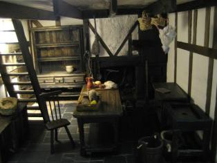 theinfill - beginnings of a Tudor to Jacobean kitchen space