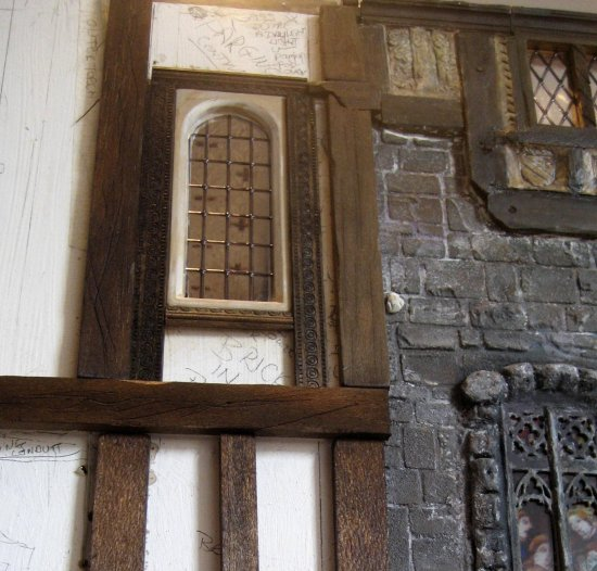 theinfill - Medieval, Tudor to Jacobean doll's house exterior planning