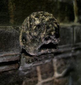 theinfill - Medieval to Jacobean via Tudor Dolls House - gargoyles