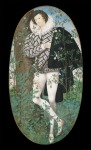 'Young man amonst the roses' - Nicholas Hilliard c1588