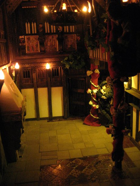 theinfill - dolls house lighting - Medieval, Tudor to Jacobean Great Hall