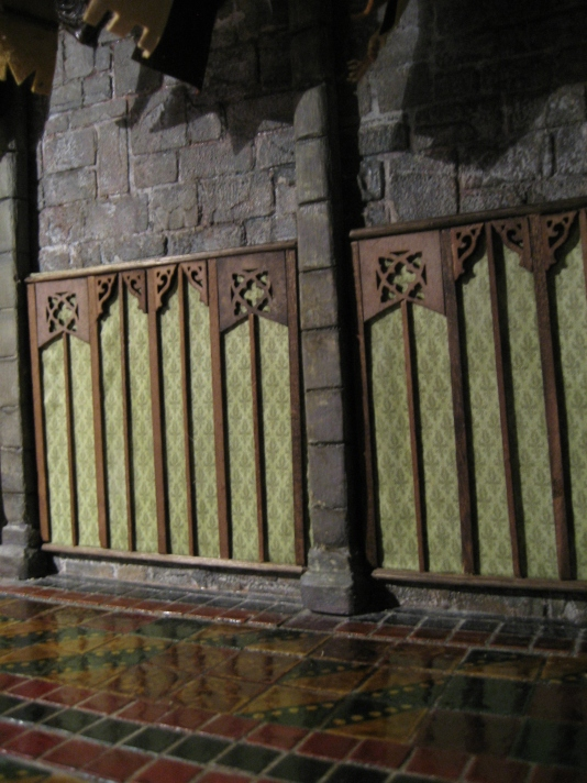 theinfill - Medieval, Tudor and Jacobean Great Hall - gothic style wall panel