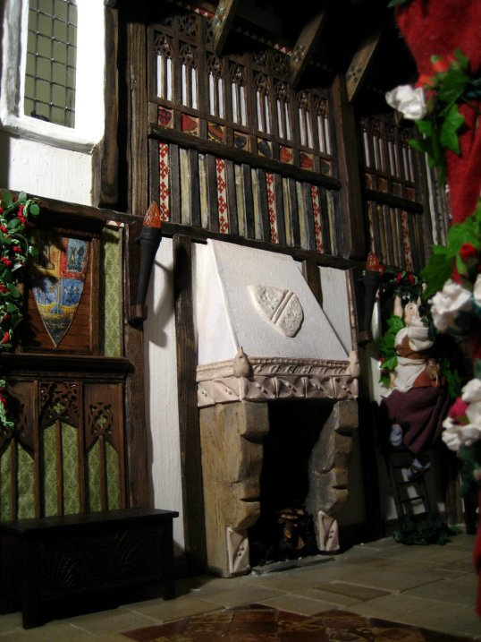 theinfill - dolls house blog - Great Hall in two halves