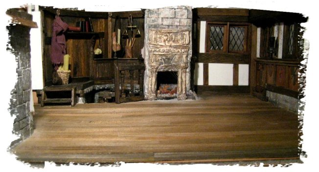 theinfill- Jacobean dolls house blog, upper Great Hall meeting room