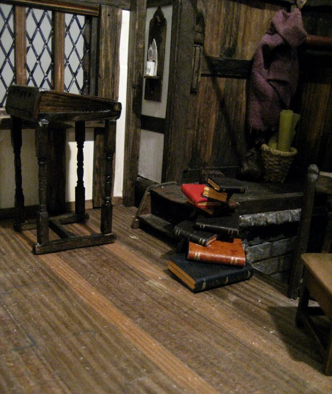 theinfill = Tudor, Elizabethan, Jacobean dolls house blog – changing the look of a bought in item
