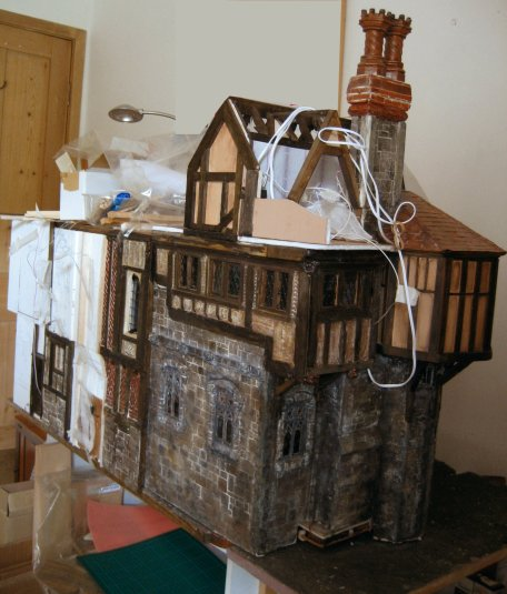 theinfill - dolls house blog, Medieval, Tudor and Jacobean 1/12th scale model/dolls house