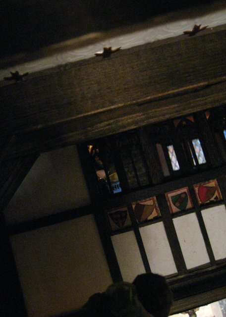 theinfill – the infill – Tudor, Elizabethan, Jacobean Dolls House Blog – completing the Great Hall structure