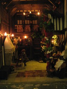 theinfill dolls house blog – Great Hall extension – Medieval, Tudor and Jacobean 12th scale model