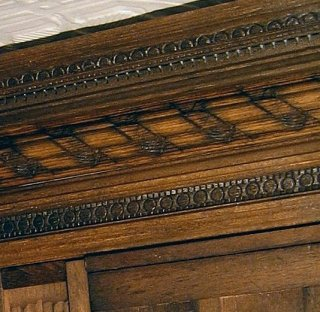 theinfill (the infill) - dolls house blog - Jacobean paneling for Long Galleery