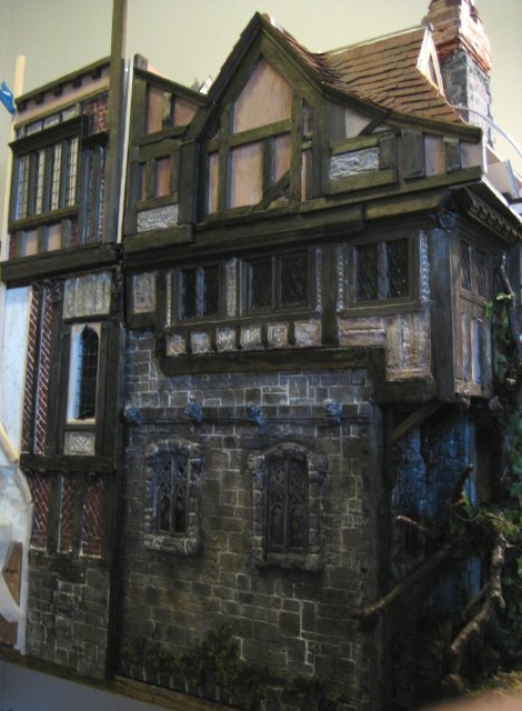 theinfill, the infill, dolls house blog - Long Gallery - Medieval, Tudor, early Jacobean