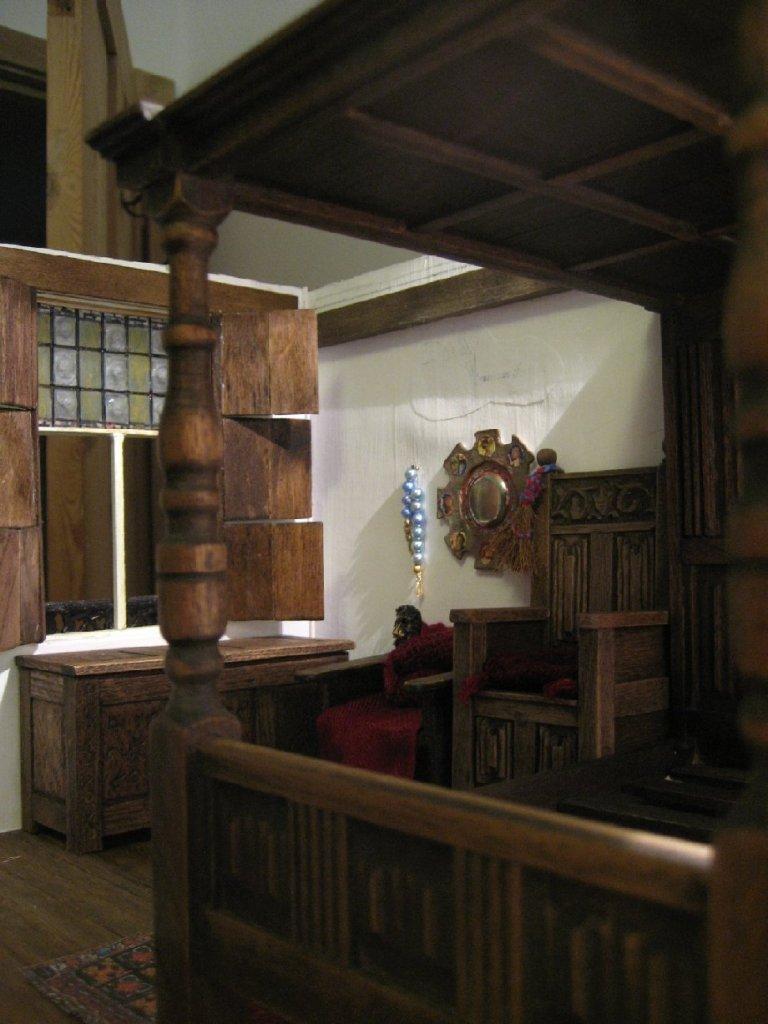 theinfill - Medieval, Tudor, Jacobean dolls house blog - Jan van Eyck's Arnolfini portrait