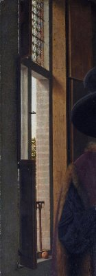 theinfill dolls house blog –a Medieval, Tudor, Jacobean model – Jan van Eyck Arnolfini portrait
