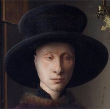 theinfill - Medieval, Tudor, Jacobean dolls house blog - J van Eyck's Arnolfini portrait - the people