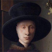 theinfill - Medieval, Tudor, Jacobean dolls house blog - J van Eyck's Arnolfini portrait - the people
