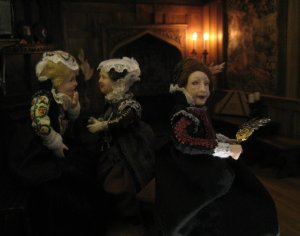 theinfill - Medieval, Tudor, Jacobean dolls house blog - 1:12 dolls taking over