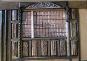 theinfill - Medieval, Tudor, Jacobean dolls house blog - creating a window wall