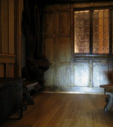 theinfill - Medieval, Tudor, Jacobean dolls house blog - fourth wall