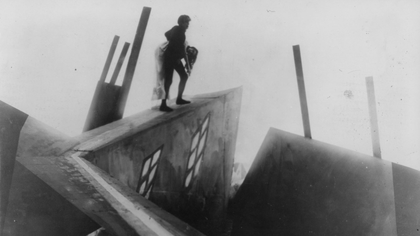 theinfill - dollhouse 1:12 blog – The Cabinet of Dr Caligari 1919 - in another part of the forest