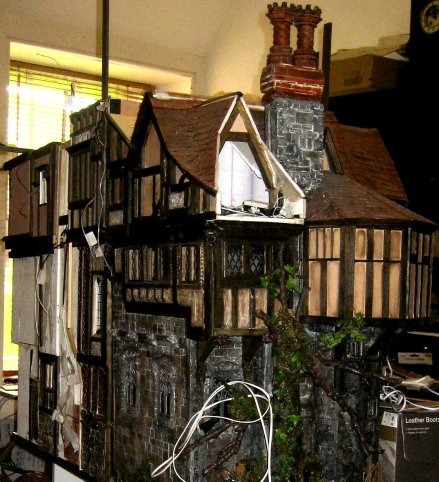 theinfill - dolls house blog Medieval, Tudor, Jacobean - model
