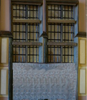 theinfill - Medieval, Tudor, Jacobean dolls house blog - manipulating an image for a better view