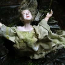 theinfill - dollhouse blog – Woman in Gothic Tower - in another part of the forest