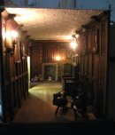 theinfill doll's house blog - Medieval, Tudor, Jacobean - Long Gallery lighting tests