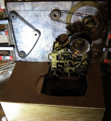 theinfill doll's house blog - decking inside the book ofthe Time Techs